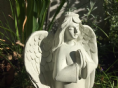 In Loving Memory of a Special Husband Praying Angel Graveside Memorial Ornament